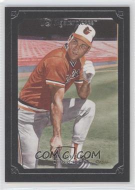 2007 UD Masterpieces Black Linen Frame #53 - Cal Ripken Jr. /99