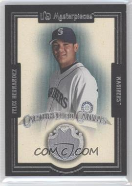 2007 UD Masterpieces Captured on Canvas #CC-FH - Felix Hernandez