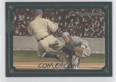 2007 UD Masterpieces Green Linen Frame #20 - Ty Cobb