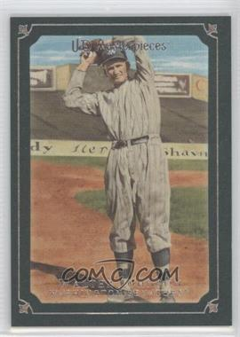 2007 UD Masterpieces Windsor Green Frame #21 - Walter Johnson