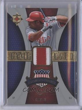 2007 Ultimate Collection - America's Pastime Memorabilia - Patches #PM-BA - Bobby Abreu /50