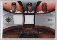 Cal Ripken Jr., Derek Jeter, Ken Griffey Jr. /50