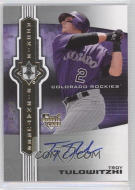 2007 Ultimate Collection #139 - Troy Tulowitzki /299