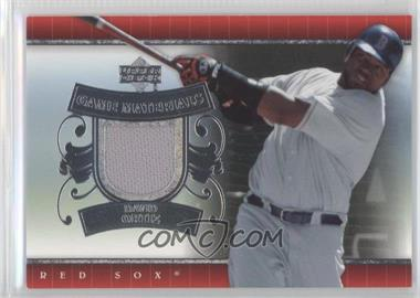 2007 Upper Deck - UD Game Materials #UD-DO - David Ortiz