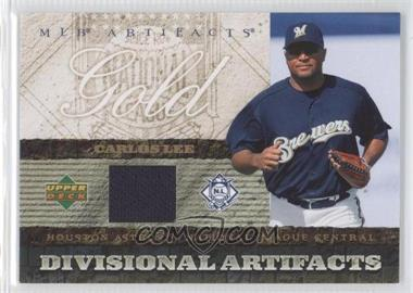 2007 Upper Deck Artifacts - Divisional Artifacts - Retail #DA-CL - Carlos Lee