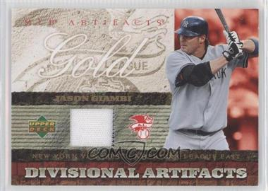 2007 Upper Deck Artifacts - Divisional Artifacts - Retail #DA-JG - Jason Giambi