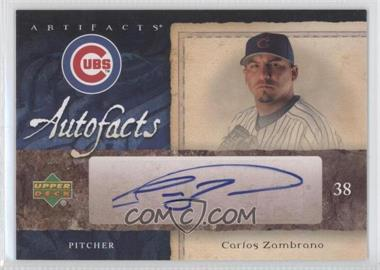 2007 Upper Deck Artifacts [???] #AF-CZ - Carlos Zambrano