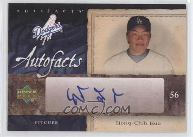 2007 Upper Deck Artifacts [???] #AF-HK - Hong-Chih Kuo