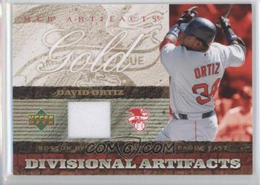 2007 Upper Deck Artifacts [???] #DA-DO - David Ortiz
