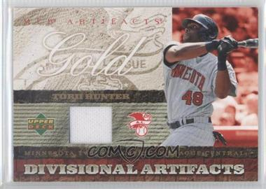 2007 Upper Deck Artifacts [???] #DA-HU - Torii Hunter