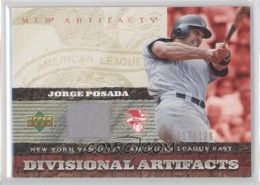 2007 Upper Deck Artifacts [???] #DA-PO - Jorge Posada