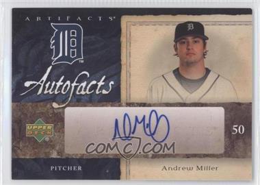 2007 Upper Deck Artifacts Autofacts #AF-AM - Andrew Miller
