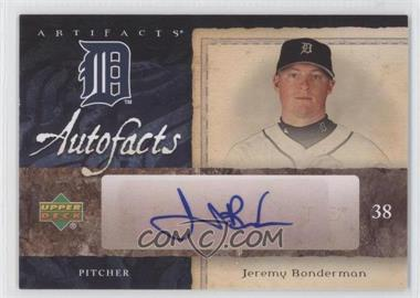 2007 Upper Deck Artifacts Autofacts #AF-BO - Jeremy Bonderman