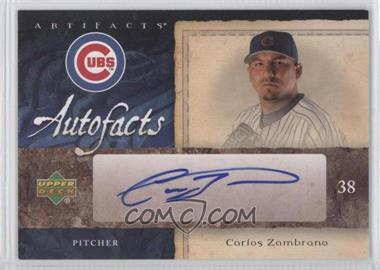 2007 Upper Deck Artifacts Autofacts #AF-CZ - Carlos Zambrano