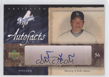 2007 Upper Deck Artifacts Autofacts #AF-HK - Hong-Chih Kuo