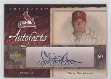 2007 Upper Deck Artifacts Autofacts #AU-CN - Chris Narveson