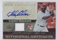 Garret Anderson /55