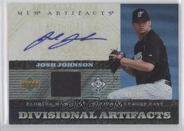 2007 Upper Deck Artifacts Divisional Artifacts Autographs [Autographed] #DA-JJ - Josh Johnson /55