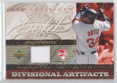 2007 Upper Deck Artifacts Divisional Artifacts Retail #DA-DO - David Ortiz