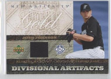 2007 Upper Deck Artifacts Divisional Artifacts Retail #DA-JJ - Josh Johnson