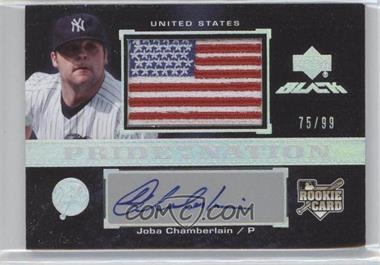 2007 Upper Deck Black #53 - Joba Chamberlain /99