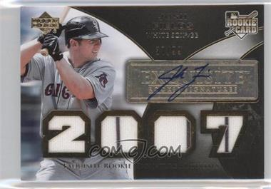 2007 Upper Deck Exquisite Rookie Signatures - [Base] - Gold #177 - Josh Fields /99