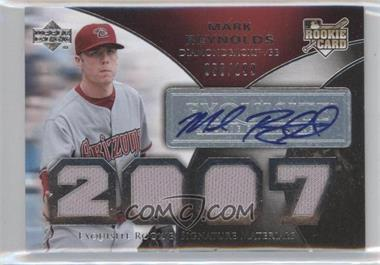 2007 Upper Deck Exquisite Rookie Signatures - [Base] #178 - Mark Reynolds /199