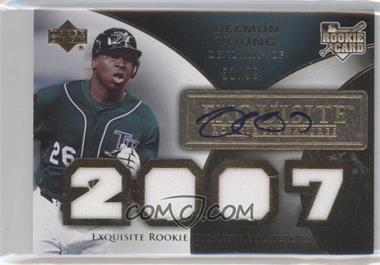 2007 Upper Deck Exquisite Rookie Signatures [???] #167 - Delmon Young /99