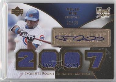 2007 Upper Deck Exquisite Rookie Signatures [???] #173 - Felix Pie /99