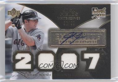 2007 Upper Deck Exquisite Rookie Signatures [???] #177 - Josh Fields /99