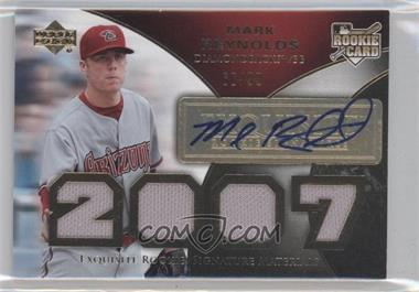 2007 Upper Deck Exquisite Rookie Signatures [???] #178 - Mark Reynolds /99