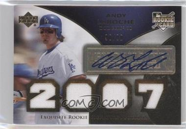 2007 Upper Deck Exquisite Rookie Signatures [???] #191 - Andy LaRoche /99