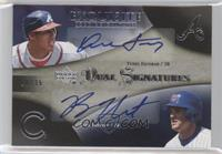 Yunel Escobar, Ryan Theriot /35
