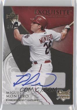 2007 Upper Deck Exquisite Rookie Signatures Gold #119 - Miguel Montero /75