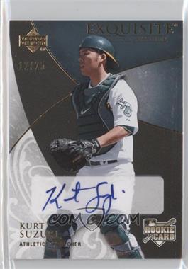 2007 Upper Deck Exquisite Rookie Signatures Gold #141 - Kurt Suzuki /25