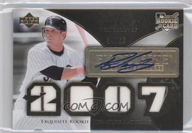 2007 Upper Deck Exquisite Rookie Signatures Gold #176 - Ryan Sweeney