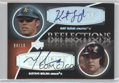 2007 Upper Deck Exquisite Rookie Signatures Reflections Silver Spectrum #REF-KG - Kurt Suzuki /10