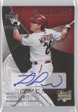 2007 Upper Deck Exquisite Rookie Signatures #119 - Miguel Montero /235