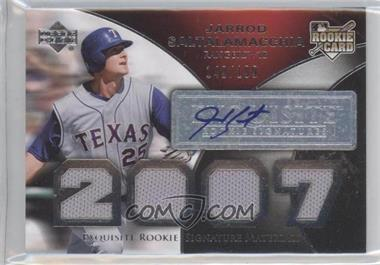2007 Upper Deck Exquisite Rookie Signatures #159 - Jarrod Saltalamacchia /199