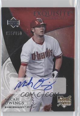 2007 Upper Deck Exquisite Rookie Signatures #187 - Micah Owings /150