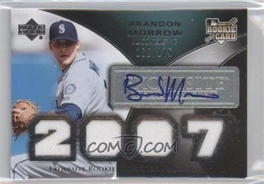 2007 Upper Deck Exquisite Rookie Signatures #192 - Brandon Morrow /175