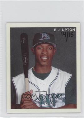 2007 Upper Deck Goudey - Diamond Stars #43 - B.J. Upton /15