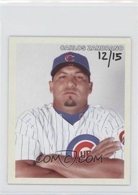 2007 Upper Deck Goudey Diamond Stars #45 - Carlos Zambrano /15
