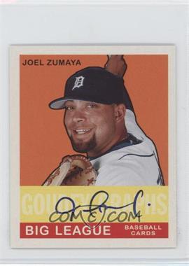 2007 Upper Deck Goudey Goudey Graphs #GG-JZ - Joel Zumaya