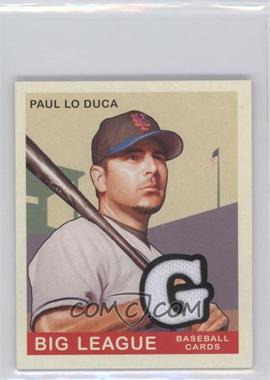 2007 Upper Deck Goudey Memorabilia [Memorabilia] #82 - Paul Lo Duca