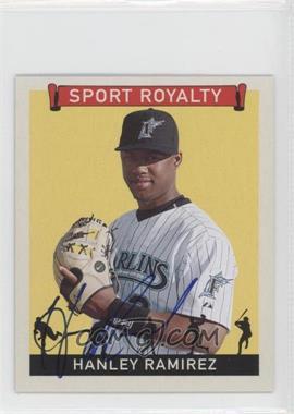 2007 Upper Deck Goudey Sport Royalty Autographs [Autographed] #SR-HR - Hanley Ramirez
