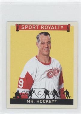 2007 Upper Deck Goudey Sport Royalty #SR-GH - Gordie Howe
