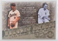 Cal Ripken Jr., Lou Gehrig