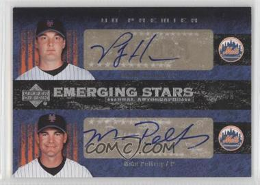 2007 Upper Deck Premier - Emerging Stars Dual Autographs #ES2-HP - Mike Pelfrey, Philip Humber /50