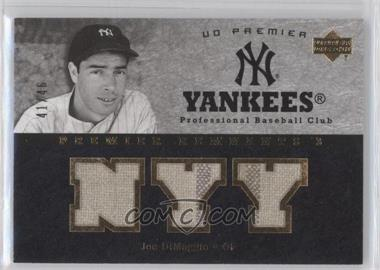 2007 Upper Deck Premier [???] #PR3-JD - Joe DiMaggio /46
